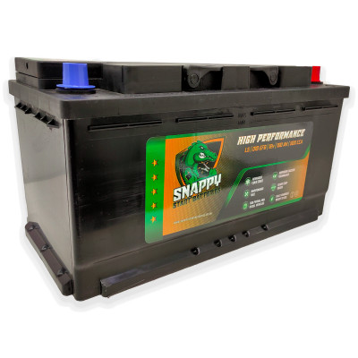 Snappy 019 Car Battery 100AH Advanced Calcium Technology 4 Year Warranty