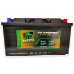 Snappy 110AH Leisure Battery Advanced Calcium Technology 4 Year Warranty