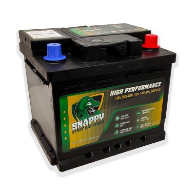 Snappy 063 Car Battery 45AH Advanced Calcium Technology 4 Year Warranty
