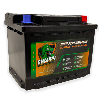 Snappy 027 Start/Stop Car Battery EFB 12v 65AH 4 Year Warranty