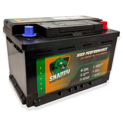 Snappy 100 Car Battery 75AH Advanced Calcium Technology 4 Year Warranty